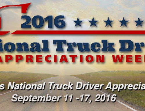 NTDAW 2016: Recognizing America's 3.5 Million Drivers!